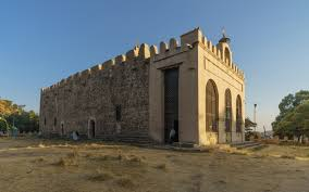 The Church of Saint Mary of Zion in Axum, Ethiopia